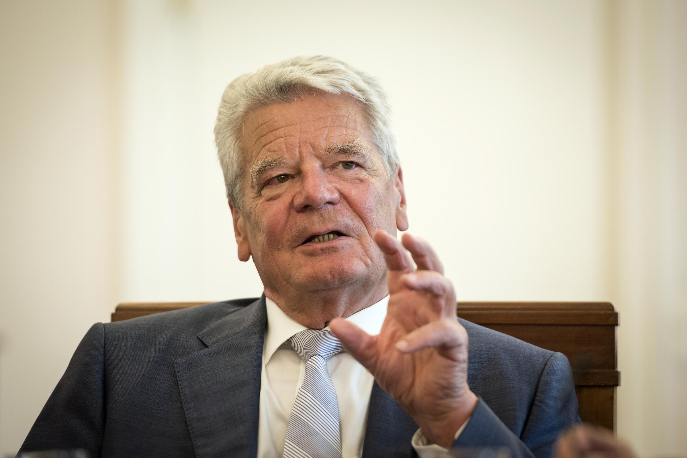 Gauck Interview